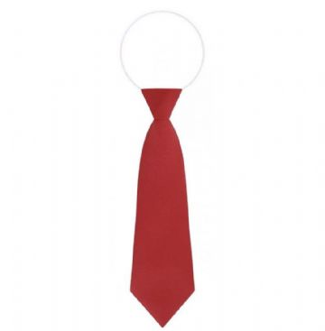 Elasticated Red Tie
